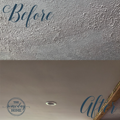 How to Remove Stippled Ceiling Texture