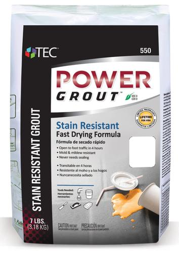 TEC power grout, how to choose the right grout