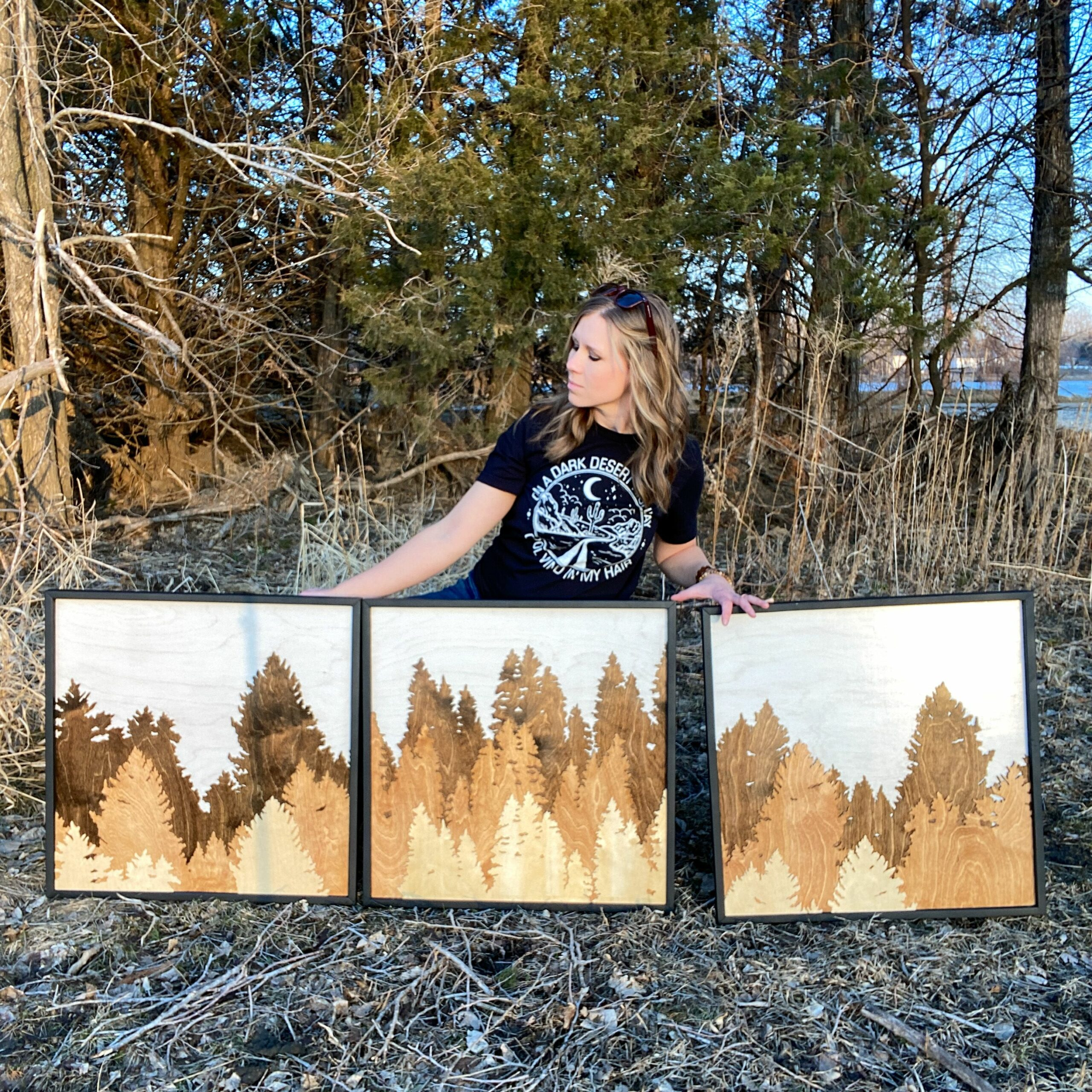 Forest Triptych